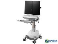 TOPSKY显示器支架移动工作台CAD01