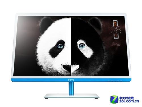 如熊猫般稀缺 冠微冰清蓝28吋液晶首测