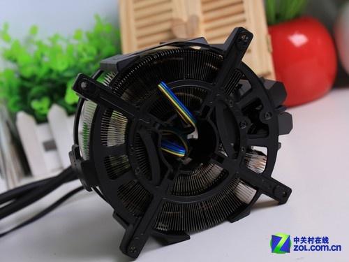 圆形冷排 扎曼Reserator 3 max水冷