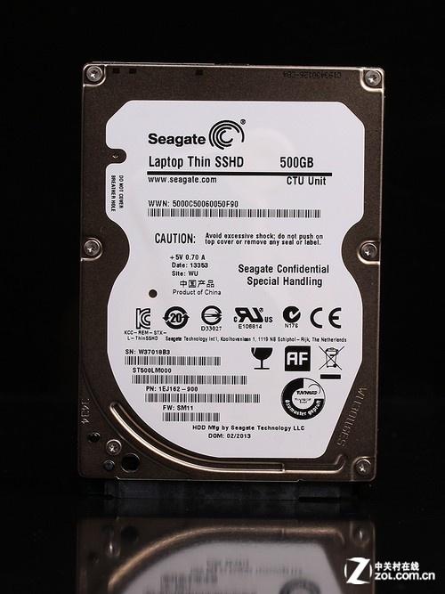 希捷 SSHD 500GB(ST500LM000) 背面