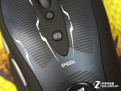 罗技 G400s黑色 细节图