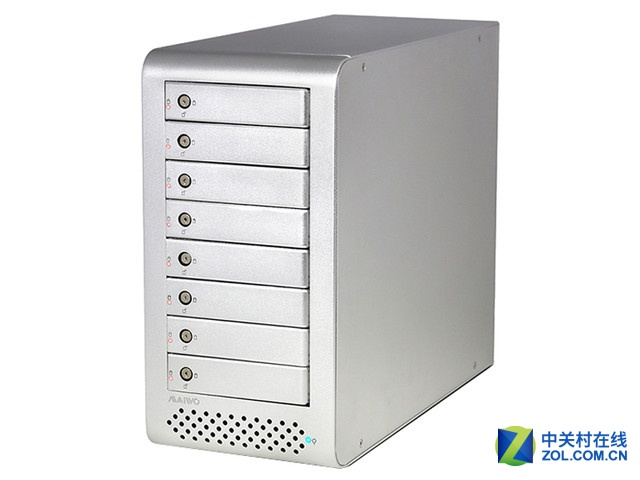 只挑大存储 MAIWO K8FSAS磁盘阵列柜