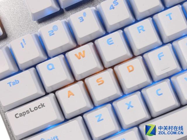 不仅仅是长 达尔优108键土豪金机械键盘