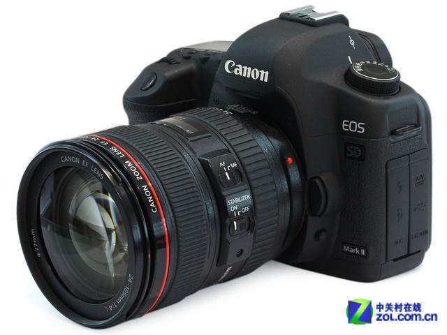 搭载24-105mm镜头 佳能5D3套机18999元