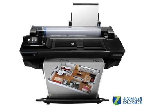 大幅面打印 HP T520 36英寸打印机热销