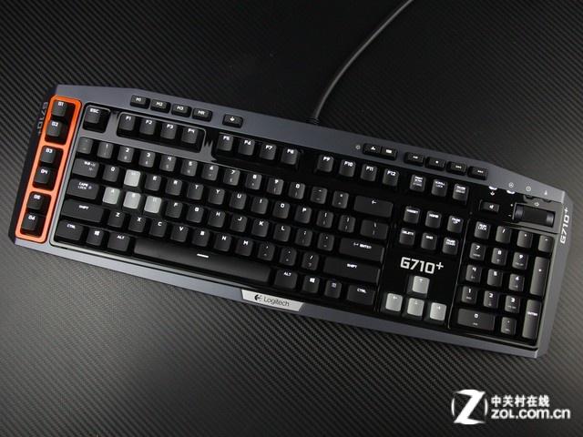 罗技 G710+黑色 外观图