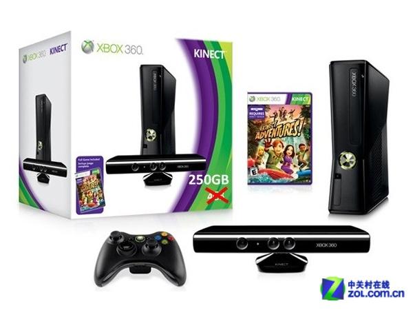 帅气 Xbox360 Kinect套装售价1876元