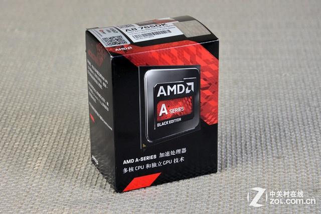 平民用超频U AMD A8-7650K报价569元