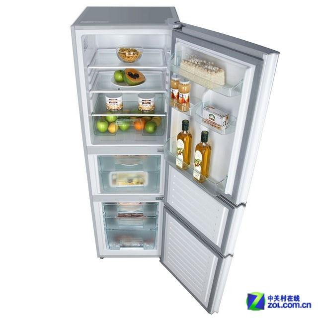 夏日必备神器 多款热销三开门冰箱推荐