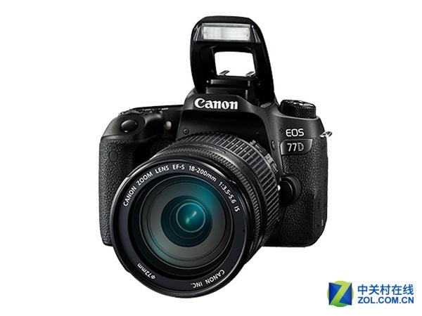 佳能EOS 77D(18-200mm IS)广州售7150元