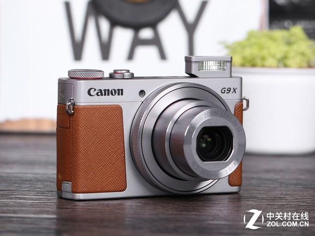高性能卡片相机 佳能G9X II带来高画质