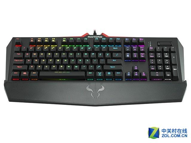 幻彩跑马灯 红火牛KR910机械键盘评测