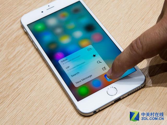 iPhone6S销量回暖 苹果1月份业绩创纪录