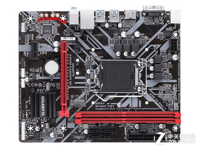 高速高效 技嘉B360M GAMING HD售589元
