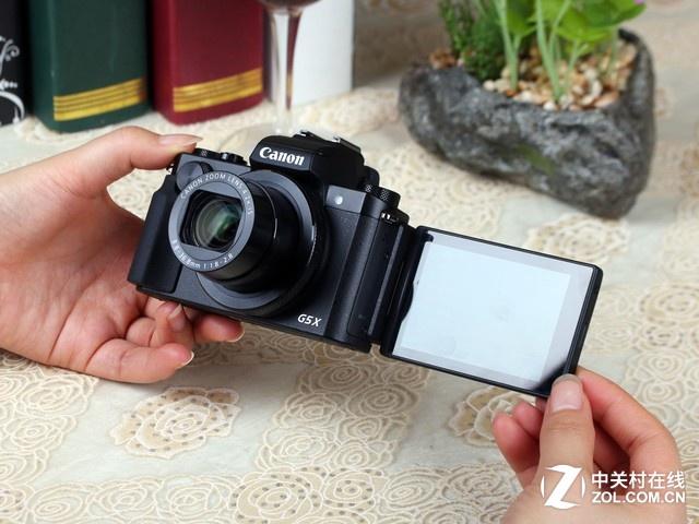 4.2倍光变防抖镜头 佳能G5X京东好价格