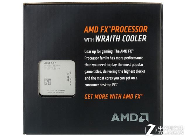 标配幽灵散热器 AMD FX-8370京东1499元