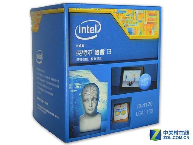 灵活便捷 Intel 酷睿i3 4170售价689元