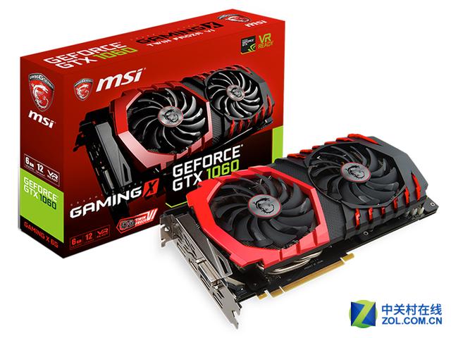 GeForce GTX 1060 GAMING X 6G售2188元